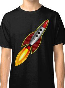 Retro Rocket Classic T-Shirt