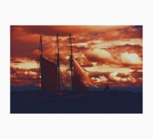 Tallship - Moody Blues and Powerful Oranges One Piece - Long Sleeve