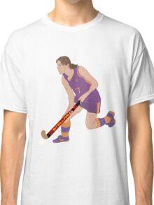 Female Field Hockey Player Classic T-Shirt