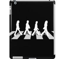 abbey road black iPad Case/Skin