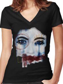 Feel it! Women's Fitted V-Neck T-Shirt
