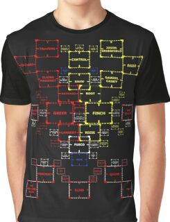 The Machine in Progress Bed Cover version 4.2 Graphic T-Shirt