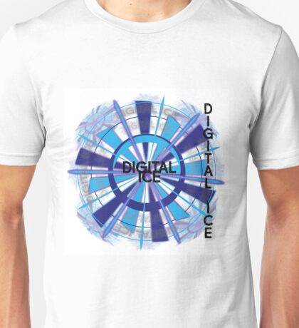 Digital Ice by Jeronimo Rubio - Copyright 2016 Unisex T-Shirt