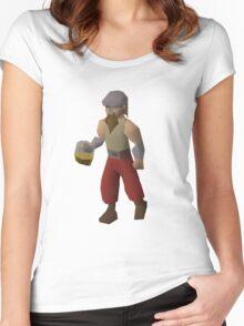 Drunken Dwarf Women's Fitted Scoop T-Shirt