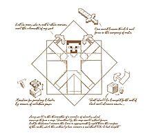 Leonardo Da Vinci Craft Photographic Print