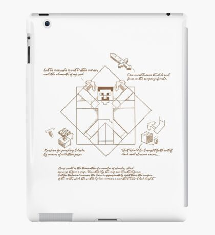 Leonardo Da Vinci Craft iPad Case/Skin