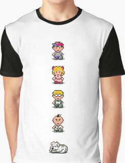 Earthbound - Characters Graphic T-Shirt