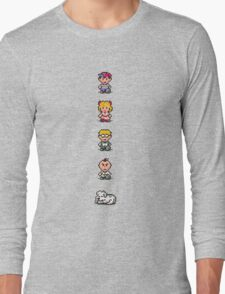 Earthbound - Characters Long Sleeve T-Shirt