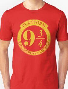 9 3/4 Harry Potter Inspired  Unisex T-Shirt
