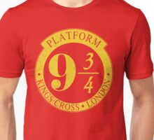 9 3/4 Harry Potter Inspired  Unisex T-Shirt