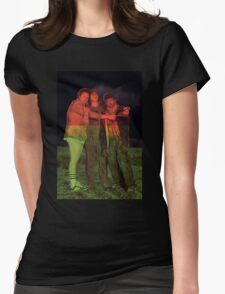 Pineapple Express Hug Womens Fitted T-Shirt