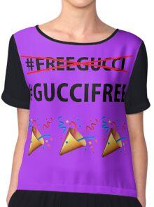 THEY FREED GUCCI MANE Chiffon Top