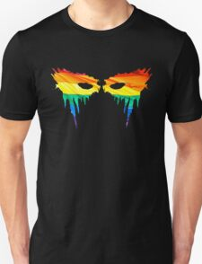 Commander Lexa Rainbow Warpaint Unisex T-Shirt