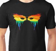 Commander Lexa Rainbow Warpaint Unisex T-Shirt