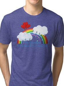 Grandma Is My Rainbow Tri-blend T-Shirt