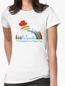 Grandma Is My Rainbow Womens Fitted T-Shirt