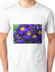Azure Primrose Unisex T-Shirt