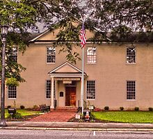 Perquimans County Courthouse by WeeZie