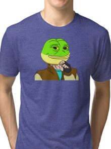 Hotline Miami Pepe Tri-blend T-Shirt