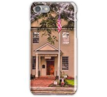Perquimans County Courthouse iPhone Case/Skin