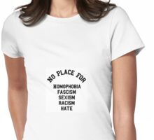 NO PLACE FOR Womens Fitted T-Shirt