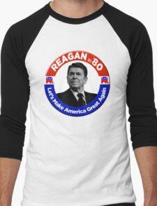 Ronald Reagan for President 1980  Men's Baseball ¾ T-Shirt