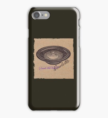 vintage roulette ad iPhone Case/Skin