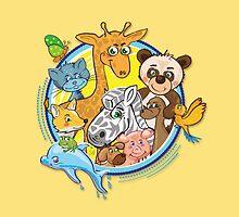 Animals Mix Nr. 2 by Silvia Neto