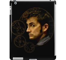 Tenth Doctor with Gallifreyan, Doctor Who iPad Case/Skin