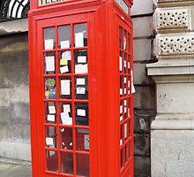 Sherlock Memorial Phonebox by 365Londontown