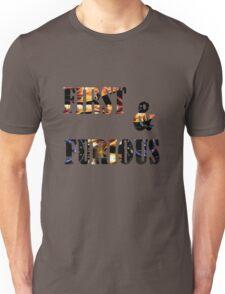 text art Unisex T-Shirt