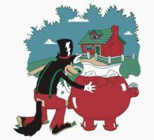 Big Bad Wolf & Kool Aid Man by Top Tees