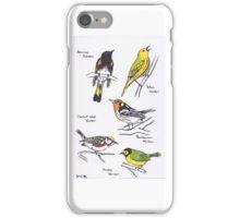 North American Warblers iPhone Case/Skin