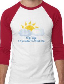 Wife Is My Sunshine Men's Baseball ¾ T-Shirt