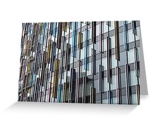 Glass Panes Greeting Card