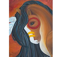 The Painted Horse Photographic Print