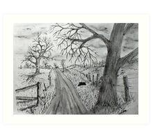 Memory Road Art Print