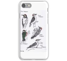 North American Woodpeckers iPhone Case/Skin