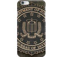 FBI Crest iPhone Case/Skin