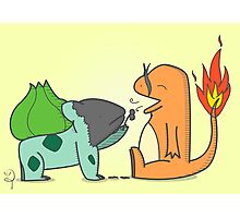 Poor Bulbasaur... Photographic Print