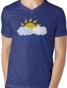Grandma Is My Sunshine Mens V-Neck T-Shirt