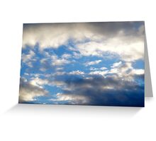 London Sky Greeting Card