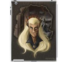 Thranduil-king of the woodland realm  iPad Case/Skin