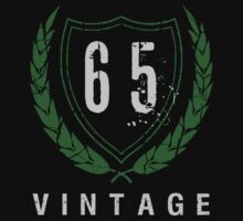 65th Birthday Laurels T-Shirt by thepixelgarden