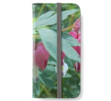 Bleeding Heart flower iPhone Wallet/Case/Skin