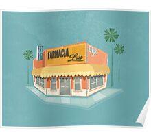 Farmacia Luis - Little Havana - Miami Poster