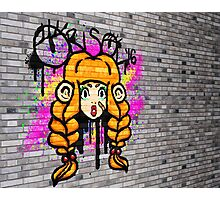 Nan Graffiti Photographic Print