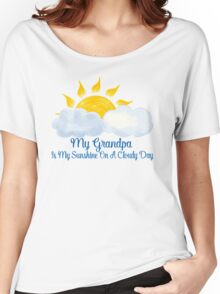 Grandpa Is My Sunshine Women's Relaxed Fit T-Shirt