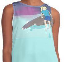Adventure Time - Finn by the ocean Contrast Tank