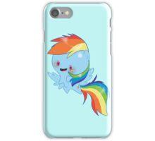 Rainbow Dash chibi pony iPhone Case/Skin